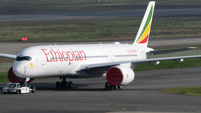 F-WZHD - Airbus A350-941 - Ethiopian Airlines