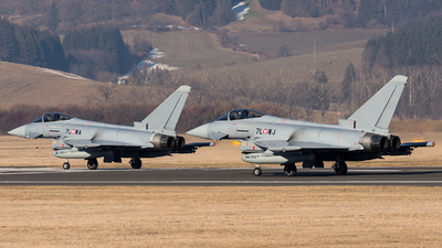 7L-WJ - Eurofighter Typhoon EF2000 - Austria - Air Force