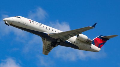 N868CA - Bombardier CRJ-100ER - Delta Connection (SkyWest Airlines)