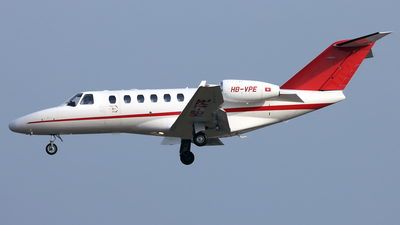 HB-VPE - Cessna 525A CitationJet 2 Plus - ExecuJet Europe