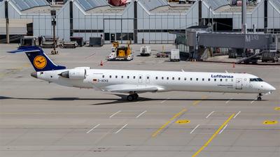 D-ACKE - Bombardier CRJ-900LR - Lufthansa Regional (CityLine)