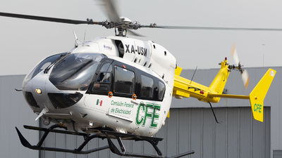 XA-USM - Eurocopter EC 145 - Mexico - Comision Federal de Electricidad (CFE)
