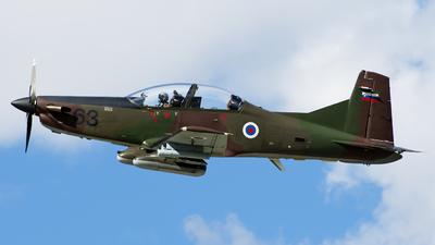 L9-63 - Pilatus PC-9M - Slovenia - Air Force