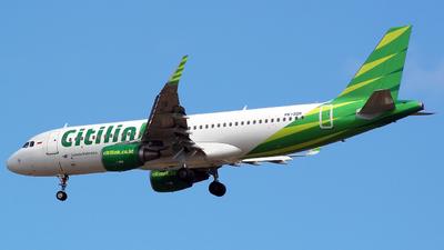 PK-GQR - Airbus A320-214 - Citilink