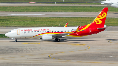 A picture of B1783 - Boeing 73784P - Hainan Airlines - © Smiling PVG
