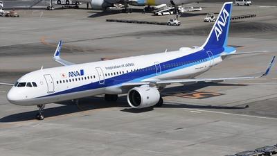 JA144A - Airbus A321-272N - All Nippon Airways (ANA)