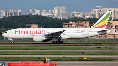 ET-ANR - Boeing 777-260LR - Ethiopian Airlines