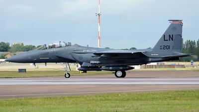 96-0201 - McDonnell Douglas F-15E Strike Eagle - United States - US Air Force (USAF)