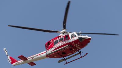 I-VFOR - Agusta-Bell AB-412EP - Italy - Vigili del Fuoco