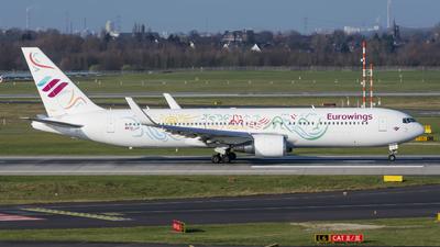 HB-JJF - Boeing 767-316(ER) - Eurowings (PrivatAir)