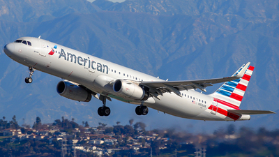 A picture of N153AN - Airbus A321231 - American Airlines - © James Dinsdale