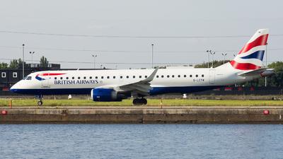 G-LCYW - Embraer 190-100SR - BA CityFlyer