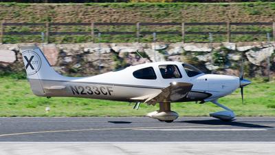 N233CF - Cirrus SR22T-GSx - Private