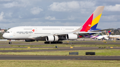 HL7626 - Airbus A380-841 - Asiana Airlines