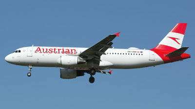 A picture of OELBM - Airbus A320214 - Austrian Airlines - © Chris Pitchacaren