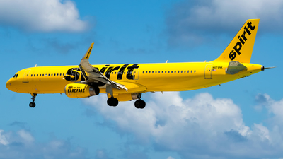 N678NK - Airbus A321-231 - Spirit Airlines