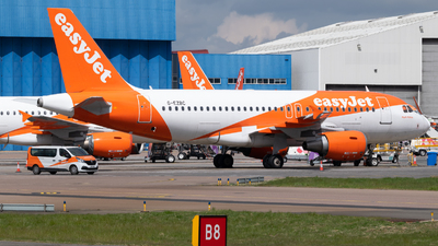 A picture of GEZBC - Airbus A319111 - easyJet - © Frankie A Said