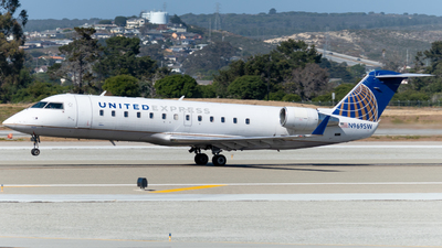 A picture of N969SW - Mitsubishi CRJ200LR - United Airlines - © global_flyer1