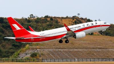 B-7637 - Boeing 737-86D - Shanghai Airlines