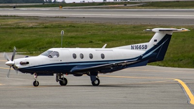 A picture of N166SB - Pilatus PC12/45 - [310] - © Hamza Hasnat