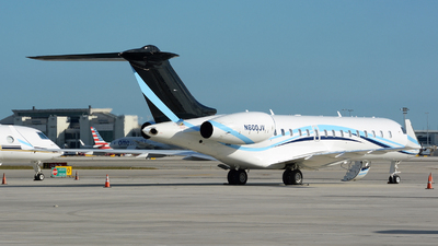 N600JV - Bombardier BD-700-1A10 Global 6000 - Private