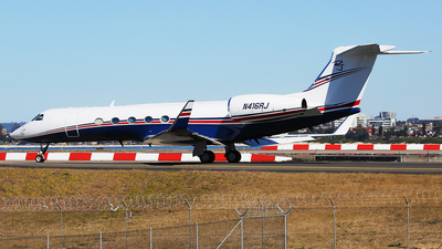 A picture of N416RJ - Gulfstream V -  - © Mark H