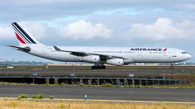 F-GLZH - Airbus A340-311 - Air France