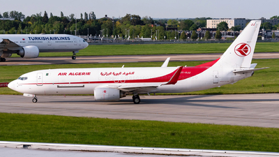 A picture of 7TVJJ - Boeing 7378D6(BCF) - Air Algerie - © Karam Sodhi