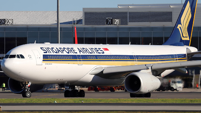 9V-SSG - Airbus A330-343 - Singapore Airlines