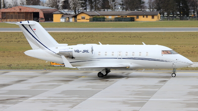 A picture of HBJRE - Bombardier Challenger 605 -  - © Christoph Plank