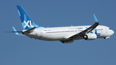 D-AXLE - Boeing 737-8Q8 - XL Airways Germany