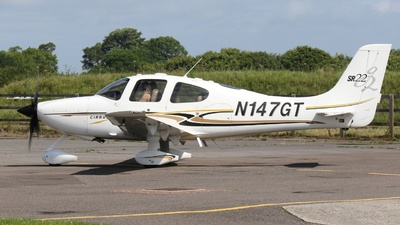 A picture of N147GT - Cirrus SR22 - [1069] - © ian simpson