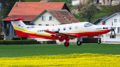 HB-FRR - Pilatus PC-12/47E - JiangXi Express
