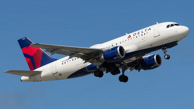 A picture of N319NB - Airbus A319114 - Delta Air Lines - © Positive Rate Photography
