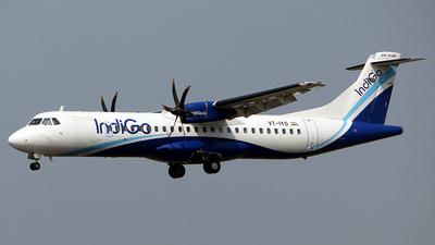 A picture of VTIYO - ATR 72600 - IndiGo - ©  Rohit  Ramachandran