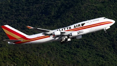 N709CK - Boeing 747-4B5(BCF) - Kalitta Air