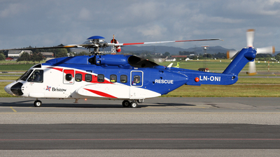 A picture of LNONI - Sikorsky S92A Helibus - Bristow Helicopters - © Rrimestad