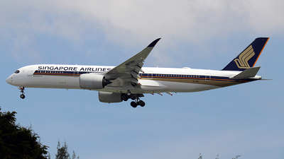 9V-SMJ - Airbus A350-941 - Singapore Airlines
