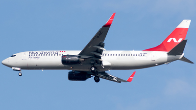 A picture of VPBSC - Boeing 7378KN - Nordwind Airlines - © Taha Berat