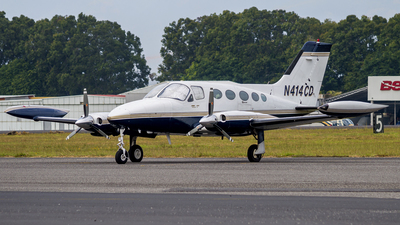 N414CD - Cessna 414 Chancellor - Private