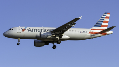 A picture of N123UW - Airbus A320214 - American Airlines - © Kerrigan_Aviation_NJ