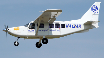 N412AR - GippsAero GA8-TC320 - Pittsburgh Aviation Animal Rescue Team