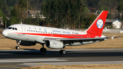 B-6419 - Airbus A319-133 - Sichuan Airlines
