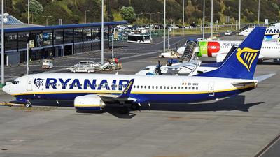 A picture of EIGXK - Boeing 7378AS - Ryanair - © Antonio Batista