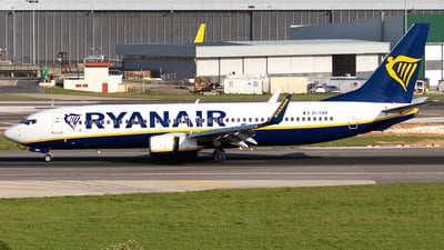 A picture of EIDAN - Boeing 7378AS - Ryanair - © Rui Sequeira