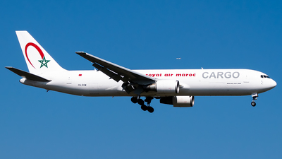CN-ROW - Boeing 767-343(ER)(BCF) - Royal Air Maroc Cargo