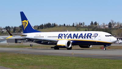 N1800B - Boeing 737-8-200 MAX - Ryanair