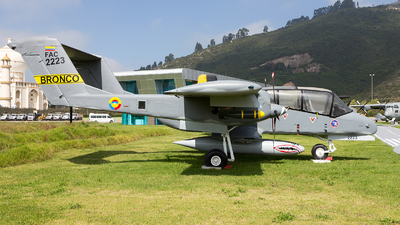 FAC2223 - North American OV-10A Bronco - Colombia - Air Force