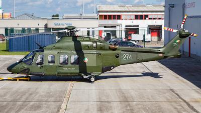 274 - Agusta-Westland AW-139 - Ireland - Air Corps