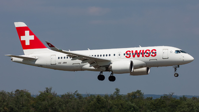 HB-JBH - Bombardier CSeries CS100  - Swiss